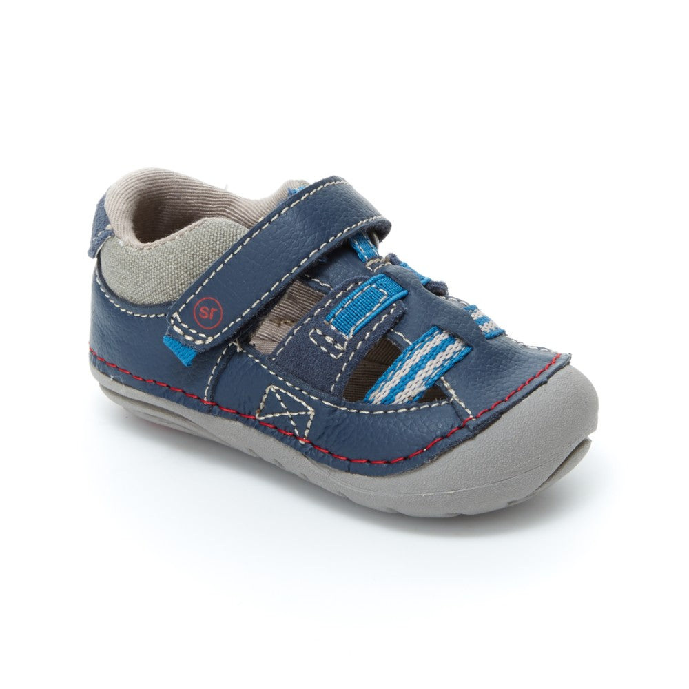 Stride Rite Soft Motion Antonio Navy Sandal