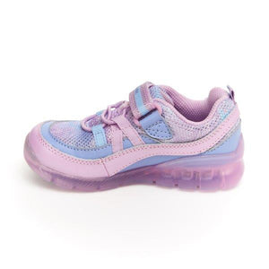Stride Rite Made2Play Light-up Burst Sneaker - Purple Multi