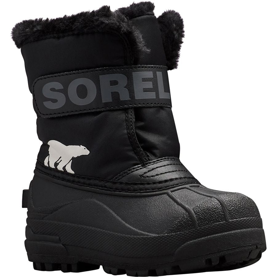 Childrens' Snow Commander™ Waterproof Boot - Black/Charcoal
