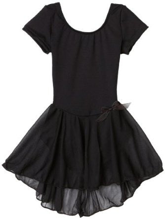Capezio Nylon Dress in Black -  - Little Feet Childrens Shoes  - 1