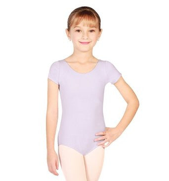 Capezio Short Sleeve Leotard in Lavender