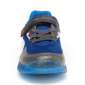 Stride Rite Shark Lighted Sneaker - Black/Blue