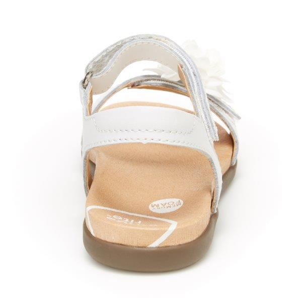 Stride Rite SRtech Truly Sandal - White Leather