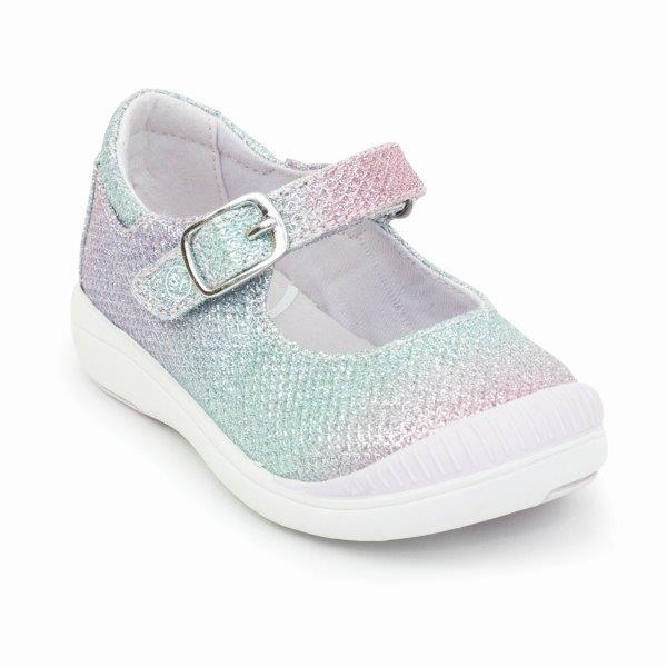 Stride Rite Reagan Mary Jane Sneaker - Rainbow Multi