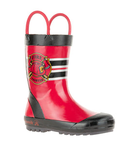 Kamik Kids Fireman Rain Boot - Red