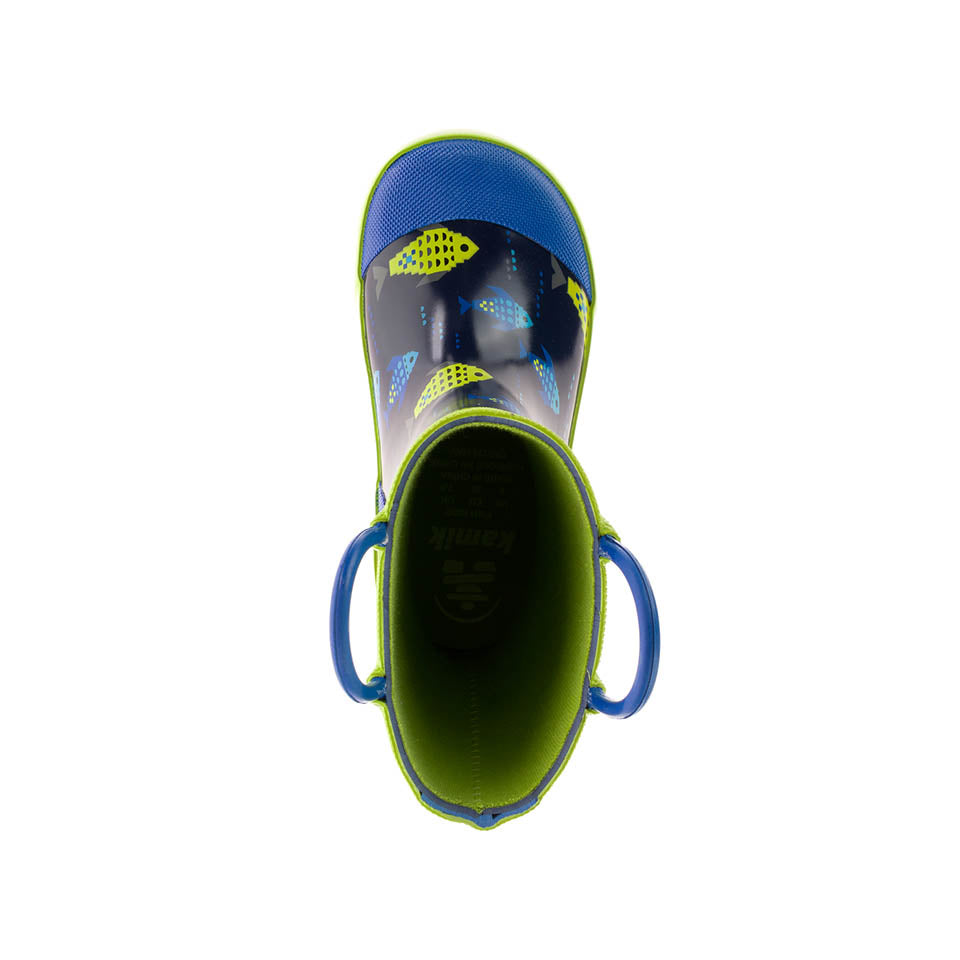 Kamik Kids Fishride Rain Boot - Navy