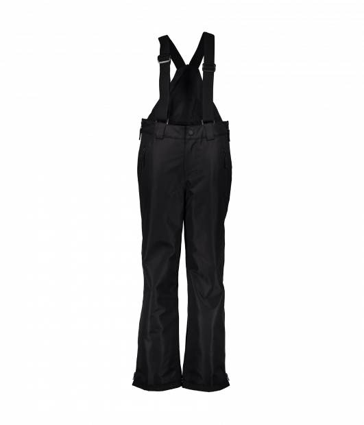Obermeyer Surface FZ Suspender Winter Snow Pant in Black