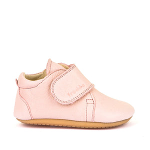 Prewalker Leather Bootie - Light Pink