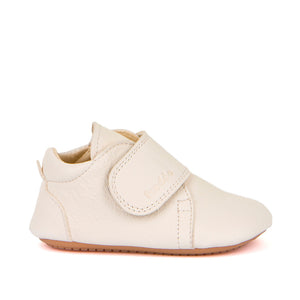 Prewalker Leather Bootie - White