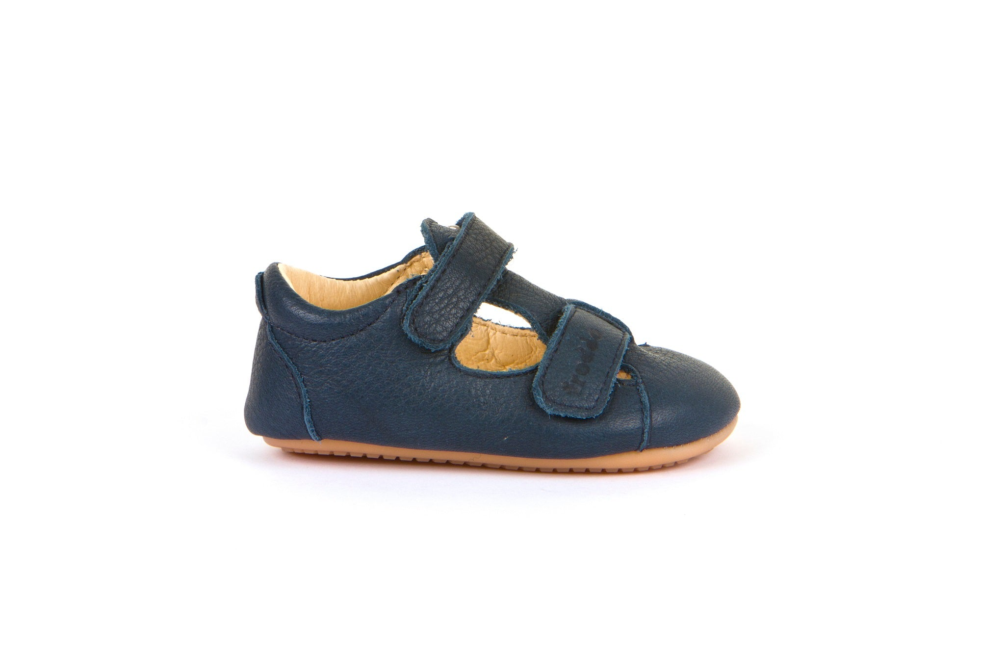 Froddo Leather Sandal Prewalker - Navy