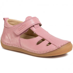 Leather Strap Sandal - Pink