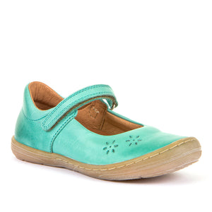 Froddo Leather Mary Jane Ballerinas - Mint
