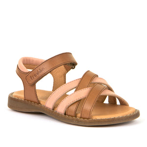 Froddo Leather Sandal - Brown+