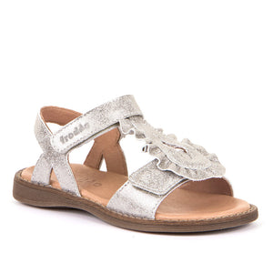 Froddo Leather Sandal - Silver