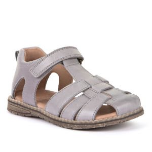 Froddo Leather Sandal - Light Grey