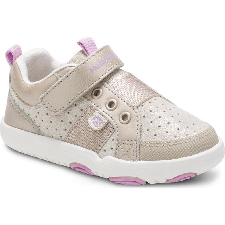 Hush Puppies Kids Jesse Sneaker - Champagne