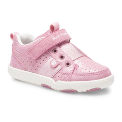Hush Puppies Jesse Trainer Rose Pink
