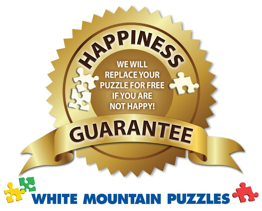 White Mountain American Diner Jigsaw Puzzle