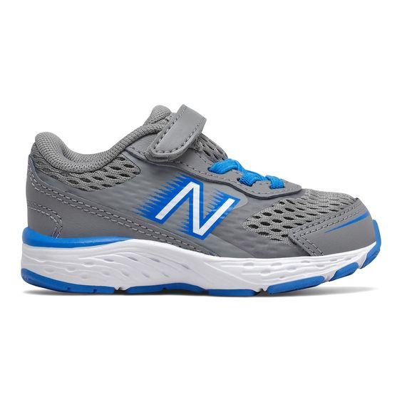 New Balance Kids 680v6 A/C Sneaker - Marblehead/Vision Blue