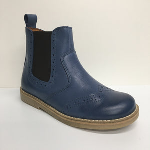 Froddo Leather Chelsea Ankle Boot - Blue