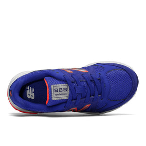 888v1 Lace Sneaker - Pacific Blue/Red