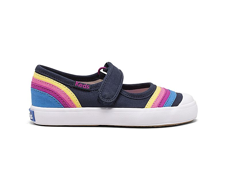 Keds Little Kid Harper MJ - Rainbow