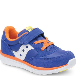 Saucony Baby Jazz Lite Sneaker - Blue/Orange