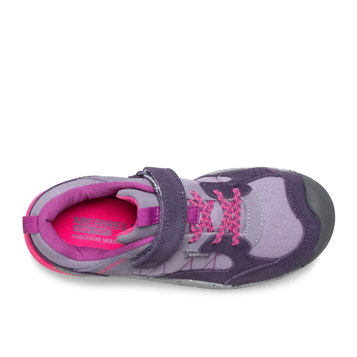 Merrell Kids Bare Steps Alpine Shoe - Dusty Purple