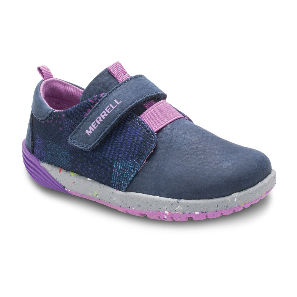 Merrell Bare Steps Sneaker in Navy/Lavender