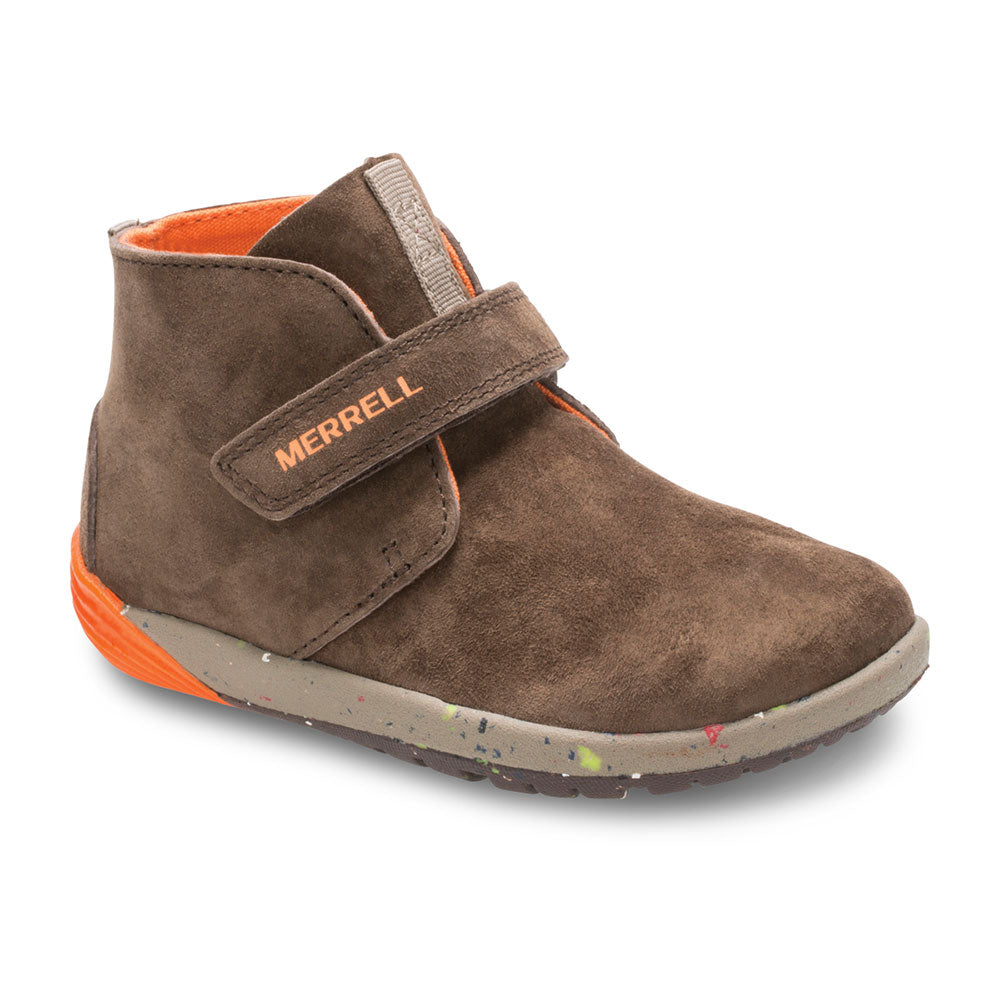 Merrell Bare Steps Boot in Brown (4-8)