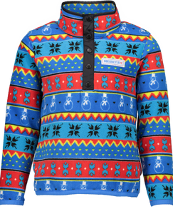 Obermeyer Boys Boulder Fleece Jacket-Pop Art