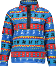 Obermeyer Boys Boulder Fleece Jacket-Pop Art Isle