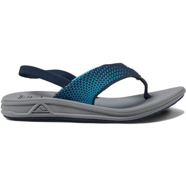 REEF KIDS LITTLE ROVER SANDAL - GREY/NAVY