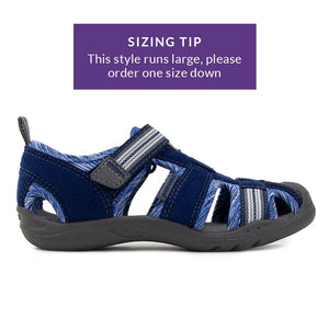 Flex Sahara Sandal - Blue Stripe