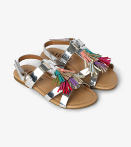 Hatley Silver Shine Sandals