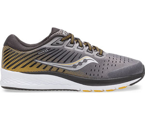 Saucony Guide 13 Sneaker - Grey/Yellow