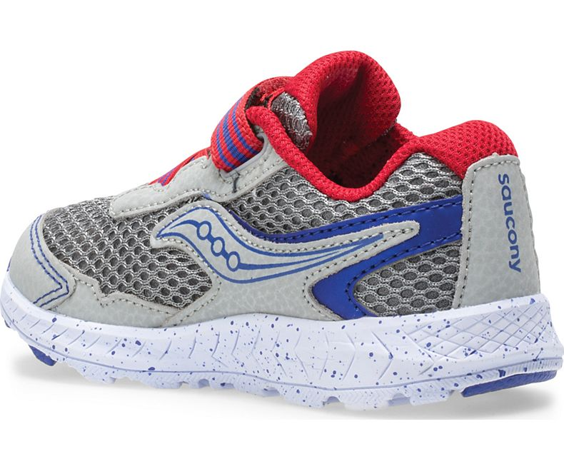 Ride 10 Jr. Sneaker - Grey/Blue