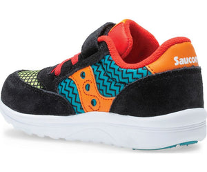 Saucony LIttle Kid's Baby Jazz Lite Sneaker - Black/Multi Print