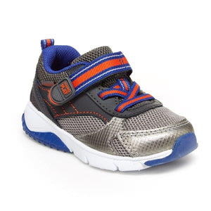 Stride Rite M2P Indy Grey/Blue/Red