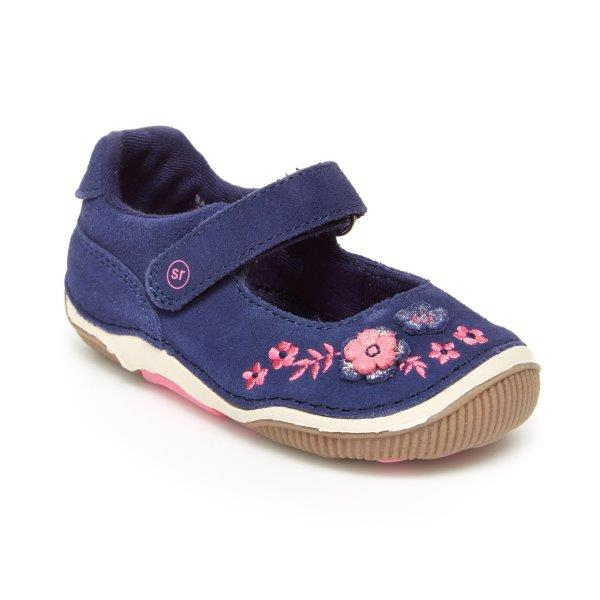 Stride Rite SRT Alise MJ Navy Suede