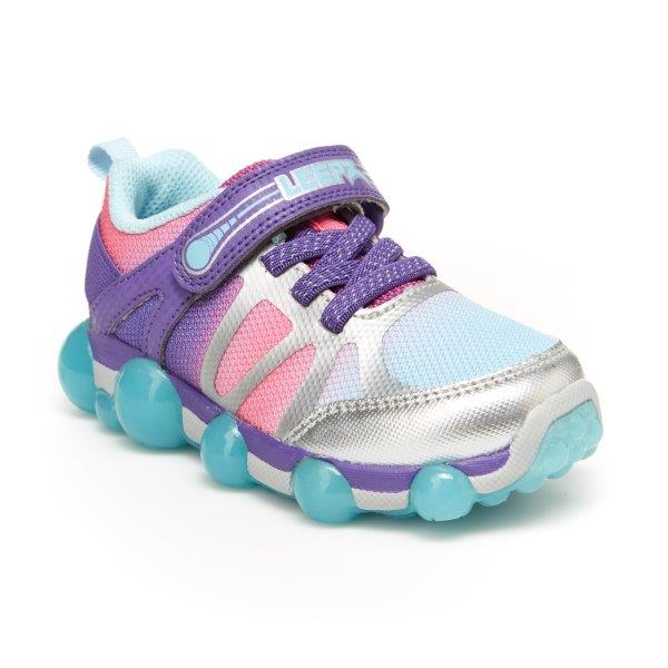 Stride Rite Leepz 3.0 Lighted Purple/Rainbow