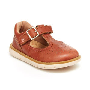 Stride Rite SRT Nell T-Strap Sierra Brown