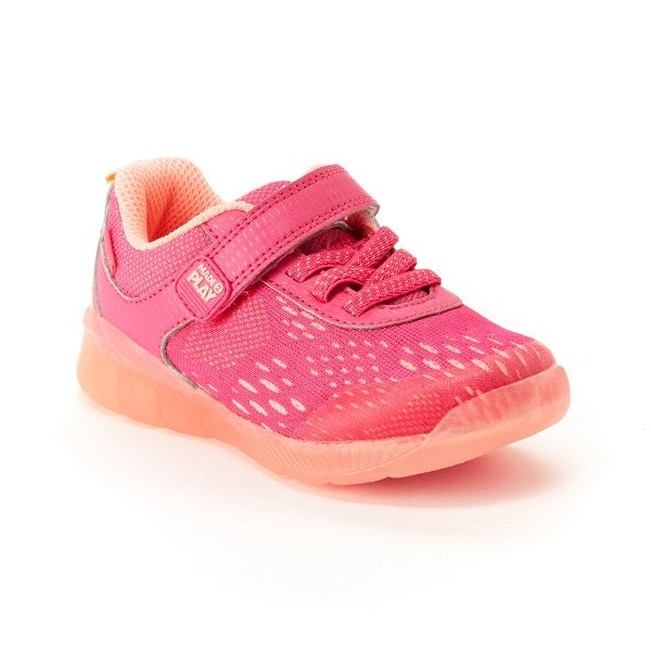 Stride Rite M2P Lighted Neo Pink/Coral