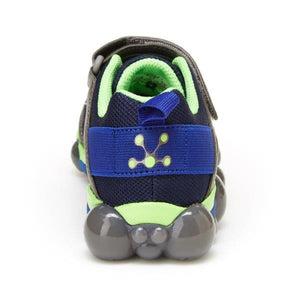 Stride Rite Leepz 3.0 Lighted Sneaker - Blue/Lime