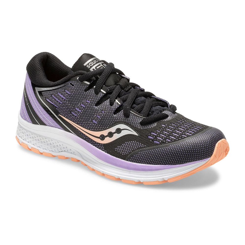 Saucony Guide ISO 2 Lace Black/Purple
