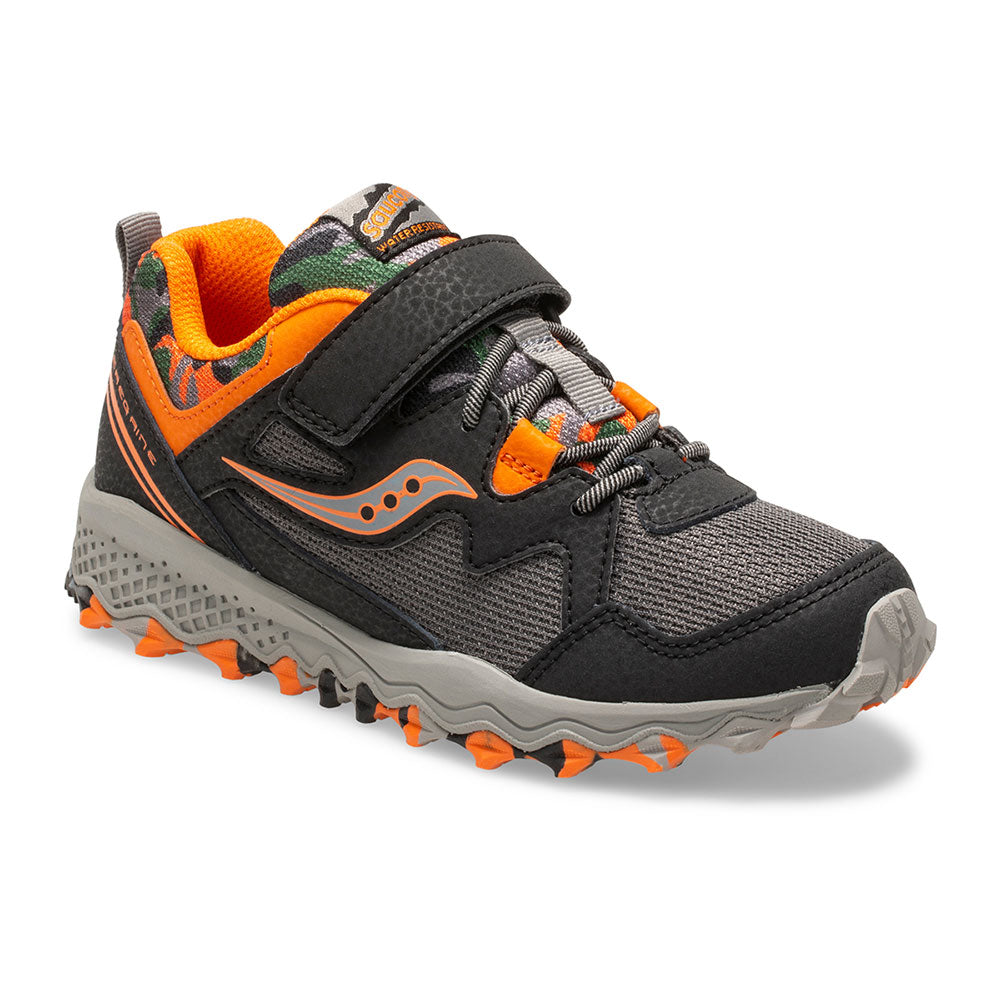 Saucony Peregrine Shield 2 Trail A/C in Black/Orange