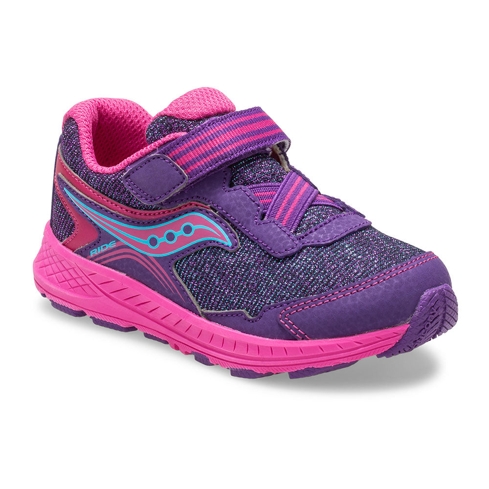Saucony Baby Ride 10 Purple/Sparkle