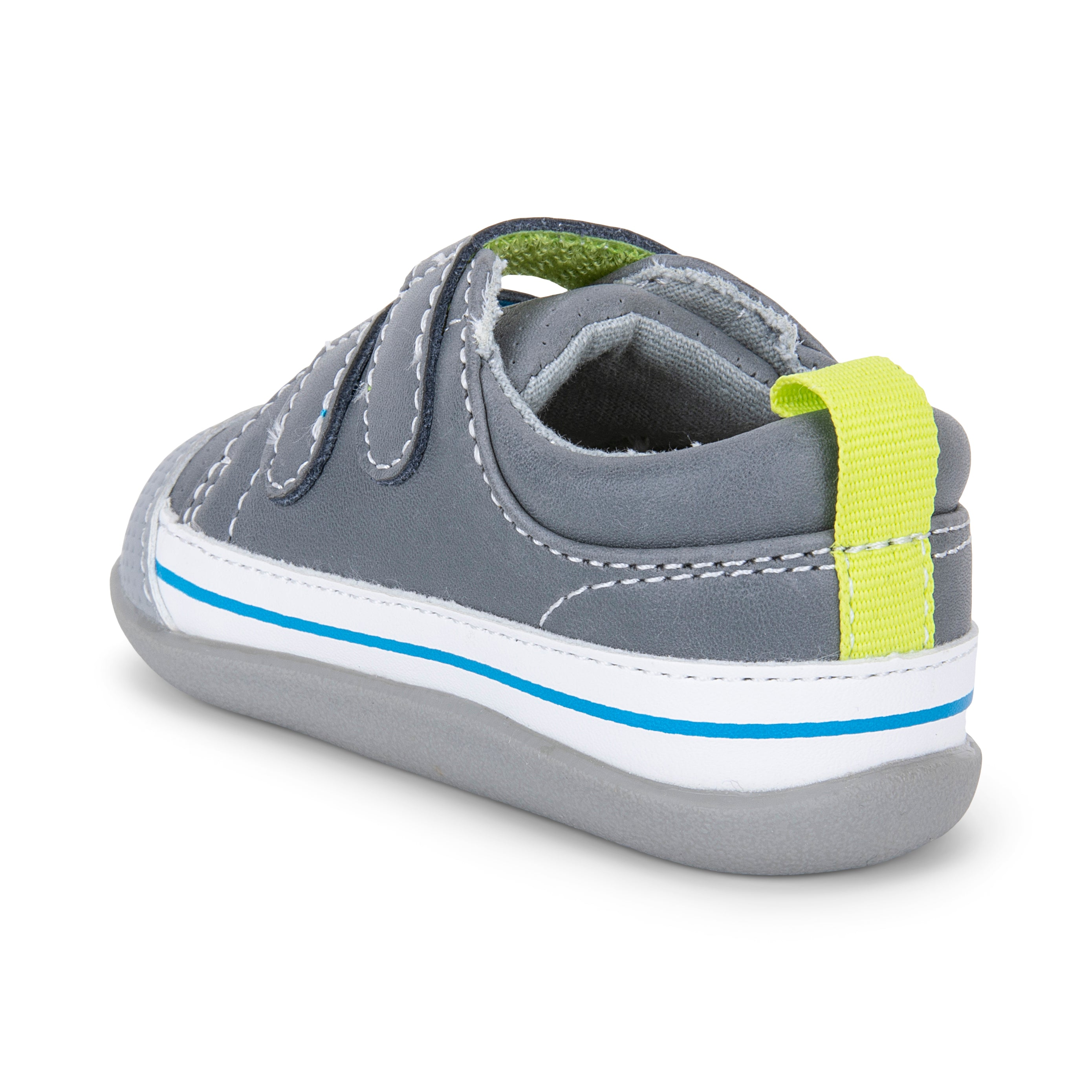 See Kai Run Waylon (First Walker) Gray Leather