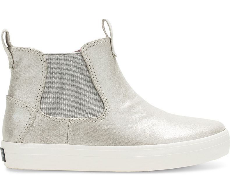 Sperry Crest Mid Sneaker Boot - Champagne