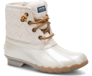Sperry Saltwater Duck Boot - Ivory